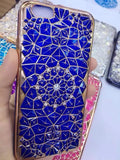"Luxury Bling Diamond Case For iphone 6 Case For iphone 6S 6 Plus i6 4.7/5.5"" Soft Silicone Thin Cover Electroplating Phone Cases - Hespirides Gifts - 8"