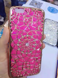 "Luxury Bling Diamond Case For iphone 6 Case For iphone 6S 6 Plus i6 4.7/5.5"" Soft Silicone Thin Cover Electroplating Phone Cases - Hespirides Gifts - 4"