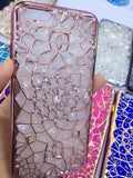"Luxury Bling Diamond Case For iphone 6 Case For iphone 6S 6 Plus i6 4.7/5.5"" Soft Silicone Thin Cover Electroplating Phone Cases - Hespirides Gifts - 5"
