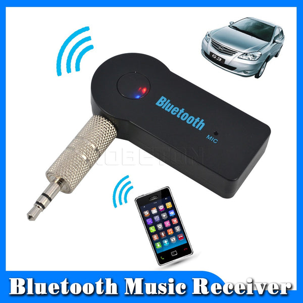 Hand Car Bluetooth Music Receiver Universal 3.5mm Streaming A2DP Wireless Auto AUX Audio Adapter With Mic For Phone MP3 - Hespirides Gifts