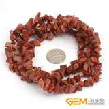 "Chips shape natural stone beads :Red Carnelian Red Coral Prehnite Lemon Stone Indian Agate Amazonite Strand 34"" - Hespirides Gifts - 17"