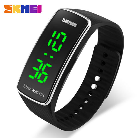 New Women Bracelet Watches Girl Candy Silicone Strap Square Dial LED Digital Watch Sport Men&Women Wrist watches - Hespirides Gifts - 1