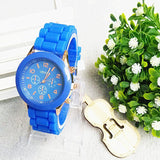 Relojes mujer 2016 Fashion Geneva Watch Women Ladies Quartz Watch Silicone Strap relogio feminino Wristwatch Dress Women Watches - Hespirides Gifts - 3