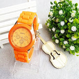 Relojes mujer 2016 Fashion Geneva Watch Women Ladies Quartz Watch Silicone Strap relogio feminino Wristwatch Dress Women Watches - Hespirides Gifts - 4