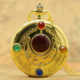 Famous Fashion Colorful Anime Sailor Moon Series Gift Women Lady Girl Pocket Watch P384 - Hespirides Gifts - 1