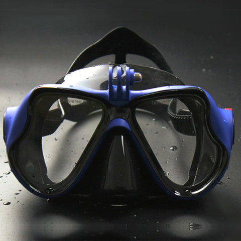 Underwater Camera Plain Diving Mask Scuba Snorkel Swimming Goggles for GoPro - Hespirides Gifts - 1