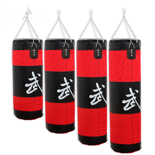New 100cm/90cm/80cm/70cm Training Fitness MMA Boxing Bag Kick Fight Bag Sand Punch Punching Bag Sandbag(Empty) - Hespirides Gifts