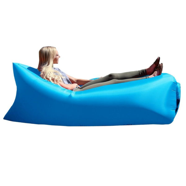 Outdoor inflatable sleeping bag camping & travel air mattress bed bags sofa ultraright cool beach sofa bed - Hespirides Gifts - 2