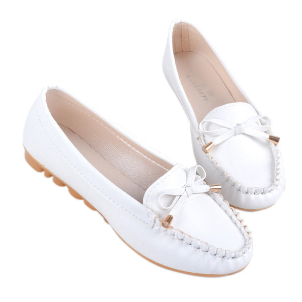 New Women Shoes Loafers Slip-on Ballet women Flats Comfort Bow shoes woman moccasins sapatilhas femininos#SJL9 - Hespirides Gifts - 3
