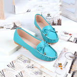 New Women Shoes Loafers Slip-on Ballet women Flats Comfort Bow shoes woman moccasins sapatilhas femininos#SJL9 - Hespirides Gifts - 2