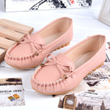 New Women Shoes Loafers Slip-on Ballet women Flats Comfort Bow shoes woman moccasins sapatilhas femininos#SJL9 - Hespirides Gifts - 4
