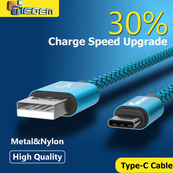 TIEGEM Usb 3.1 Type C cable USB Data Sync Charge Cable for Huawei p9 for OnePlus 2 ZUK Z1 Z2 For NEXUS 5X 6P Charge Cable - Hespirides Gifts