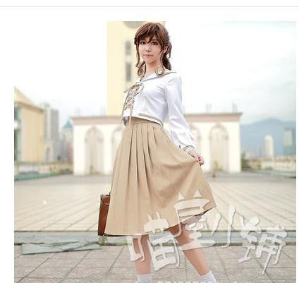 New Sailor Moon Kino Makoto/Sailor Jupiter Cosplay Costume Crystal Summer Dress Lovely Pleated Skirt dress - Hespirides Gifts - 1