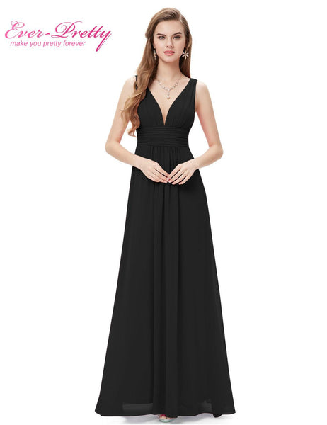Prom Dresses New Arrival Empire EP09016 Ever Pretty Special Occasion Dresses V Neck Elegant Long Prom Dresses - Hespirides Gifts - 17