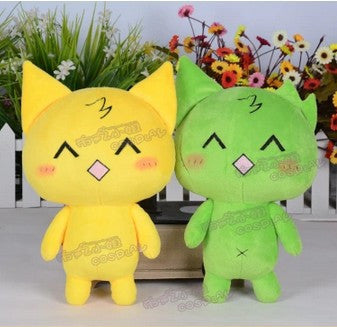 Mogeko Castle mogeko yellow cat 100% Handmade Plush Toy Cosplay Props - Hespirides Gifts