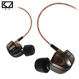 KZ ATE ATR Copper Driver HiFi Sport Headphones In Ear Earphone For Running With Foam Eartips With Microphone - Hespirides Gifts - 1
