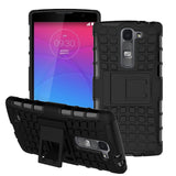 For LG Magna Case G4c H502F H525N H500F H522Y Heavy Duty Armor Shockproof Hybrid Hard Silicone Rubber Cover For LG G4 Mini ^< - Hespirides Gifts - 1