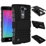 For LG Magna Case G4c H502F H525N H500F H522Y Heavy Duty Armor Shockproof Hybrid Hard Silicone Rubber Cover For LG G4 Mini ^< - Hespirides Gifts - 4