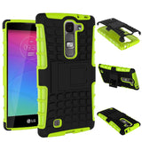 For LG Magna Case G4c H502F H525N H500F H522Y Heavy Duty Armor Shockproof Hybrid Hard Silicone Rubber Cover For LG G4 Mini ^< - Hespirides Gifts - 3