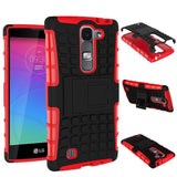 For LG Magna Case G4c H502F H525N H500F H522Y Heavy Duty Armor Shockproof Hybrid Hard Silicone Rubber Cover For LG G4 Mini ^< - Hespirides Gifts - 9