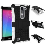 For LG Magna Case G4c H502F H525N H500F H522Y Heavy Duty Armor Shockproof Hybrid Hard Silicone Rubber Cover For LG G4 Mini ^< - Hespirides Gifts - 8
