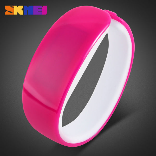New SKMEI Luxury Brand Watch Women Fashion Women Bracelet Watch Waterproof LED Digital Touch Watches Clock relogio feminino - Hespirides Gifts - 5