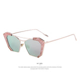 MERRY'S New Sunglasses Women Cat Eye Classic Brand Designer Twin-Beams Sunglasses Sun Glasses For Women S'8028 - Hespirides Gifts - 5