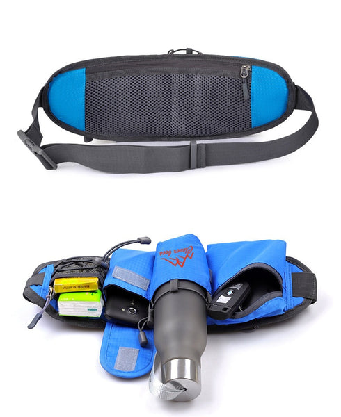 Outdoor Sports Mulitfuction Running Waist bag belt Sport Dance Gym Bottle Holder Mobile phone Key Package Coin Purse YC210-SZ+ - Hespirides Gifts