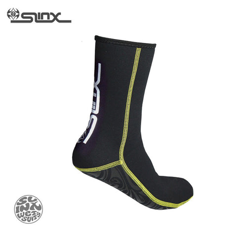 SLINX 1130 3mm Neoprene Men Women Scuba Diving Socks Swimming Swimwear Wetsuit Prevent Scratch Warm Snorkeling Spearfishing Sock - Hespirides Gifts - 1