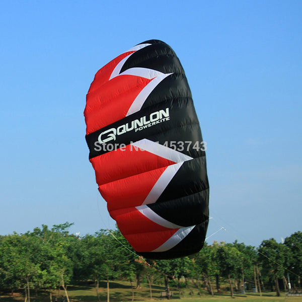 PING 4-Line Power Kite 3 Sqm With Carry Package include 180/100kgx20mx4 Flying Line and Control Bar Kitesurfing Tools - Hespirides Gifts