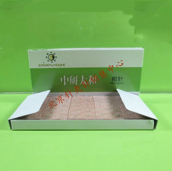 zhongyan disposable ear acupuncture needle sterile acupuncture needle ear massage needle stick to ear 0.22*1.5mm - Hespirides Gifts