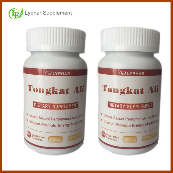 directly sell 100% full natural 2 bottle total 200 caps red root tongkat ali extract 200:1 for body health - Hespirides Gifts