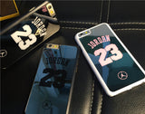 NBA brand Michael Jordan 23 fundas PC hard mirror Phone Cases for iPhone 5 5s 6 6 puls case - Hespirides Gifts - 1