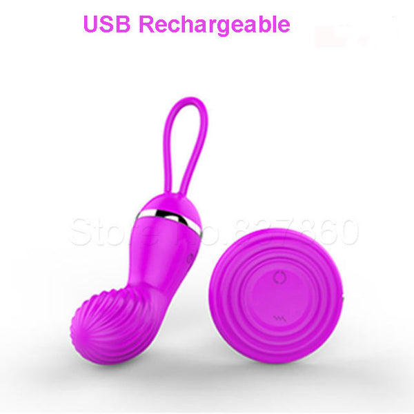 Remote Control Vibrating Egg USB Rechargeable vibrator Kegel Exercise Vaginal Balls Ben Wa ball sex toys for woman Sex Products - Hespirides Gifts