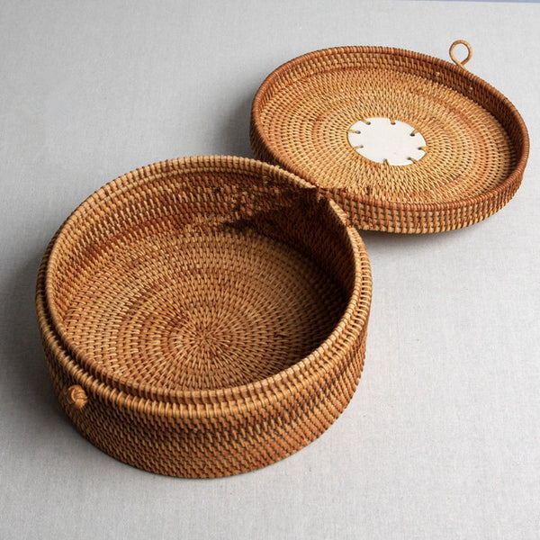 quality Puer tea box gift packaging Handmade pu er tea set health care bamboo tray wooden storage boxes wholesale - Hespirides Gifts