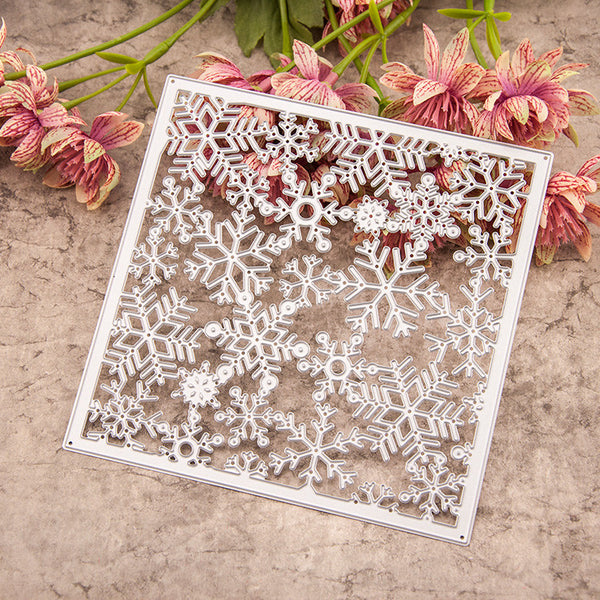 Snowflakes Set Metal Cutting Dies Stencils for DIY Scrapbooking/photo album Decorative Embossing DIY Paper Cards - Hespirides Gifts