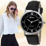 Montre Femme Stylish watches for women Vintage Quartz Watch woman Classic Leather Strap Elegant Watch Women orologio uomo - Hespirides Gifts - 1