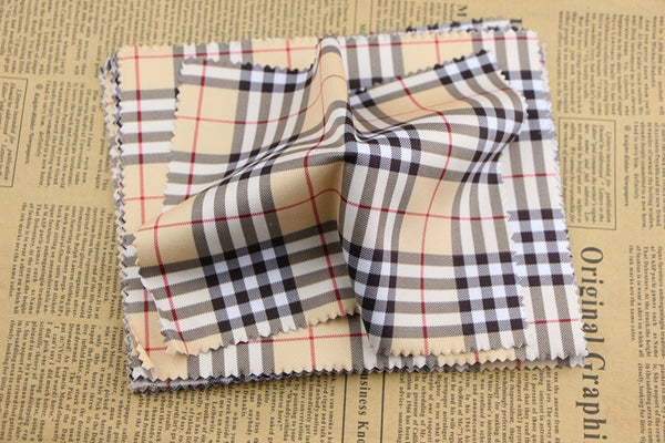 Sunglasses Phone screen cleaning cloth Modal Khaki Spell color Plaid Lens Cloth big size high quality Eyewear Accessories - Hespirides Gifts