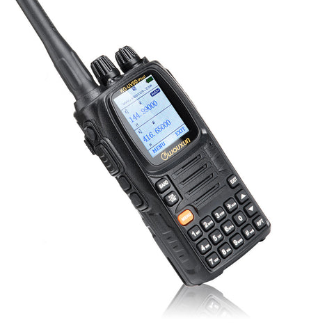 Wouxun KG-UV9D Plus Seven Bands Dual Display Twin Band Reception Simultaneously Multifunctional Two-way Radio - Hespirides Gifts