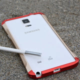 Original Taiwan DEVILCASE For GALAXY Note 4 CNC Cutout Ultra Thin Aluminum Alloy Metal Bumper Frame Cases For SAMSUNG SM-N910 - Hespirides Gifts - 1