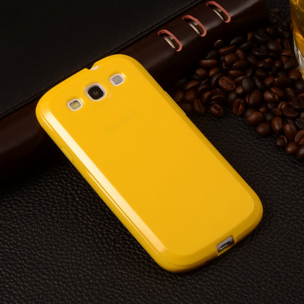 "Candy Silicone TPU Soft Plastic Case For Samsung Galaxy S3 S III i9300 Duos i9300i S3 Neo i9301 4.8"" Rubber Gel Back Phone Cover - Hespirides Gifts - 9"