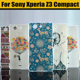 New Hot High Quality Painted Cute Cartoon UV Print Hard Housing Cover Case For SONY Xperia Z3 Compact Z3 mini M55W Cases Shell - Hespirides Gifts - 1