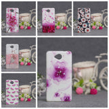 Luxury Flower Printing Case for Microsoft Nokia Lumia 650 Silicon Soft Phone Cases Cover for Nokia Lumia 650 TPU Covers Shell - Hespirides Gifts - 1