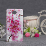Luxury Flower Printing Case for Microsoft Nokia Lumia 650 Silicon Soft Phone Cases Cover for Nokia Lumia 650 TPU Covers Shell - Hespirides Gifts - 5