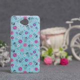 Luxury Flower Printing Case for Microsoft Nokia Lumia 650 Silicon Soft Phone Cases Cover for Nokia Lumia 650 TPU Covers Shell - Hespirides Gifts - 14