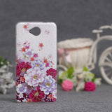 Luxury Flower Printing Case for Microsoft Nokia Lumia 650 Silicon Soft Phone Cases Cover for Nokia Lumia 650 TPU Covers Shell - Hespirides Gifts - 2
