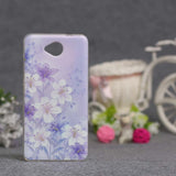 Luxury Flower Printing Case for Microsoft Nokia Lumia 650 Silicon Soft Phone Cases Cover for Nokia Lumia 650 TPU Covers Shell - Hespirides Gifts - 4