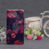 Luxury Flower Printing Case for Microsoft Nokia Lumia 650 Silicon Soft Phone Cases Cover for Nokia Lumia 650 TPU Covers Shell - Hespirides Gifts - 21