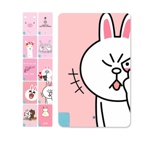 With usb cable charger Rabbit Pink Girls Portable Mini External Battery Power bank 2600MAH For Iphone for Andriod - Hespirides Gifts