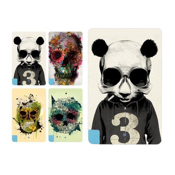 New Hot Skull pattern Card External Battery 5600mAh Power Bank Pack for iPhone for Samsung - Hespirides Gifts